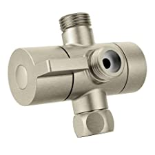 Shower Arm Diverter Brushed Nickel