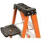 Louisville Ladder Lp-2400-00 Pail Shelf Ladder Accessory Self Closing