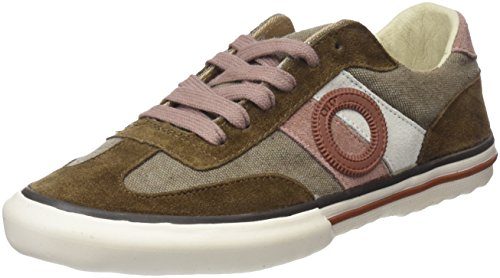 Camel Women's Top Sneakers Pol Low Brown Aro xYw1g0q0