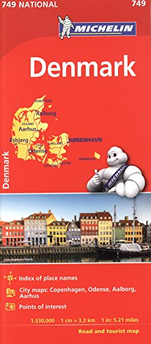 Michelin Denmark Map # 749