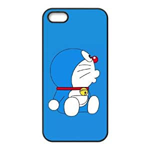 Doraemon iPhone5s Cell Phone Case Black yyfabc-418199