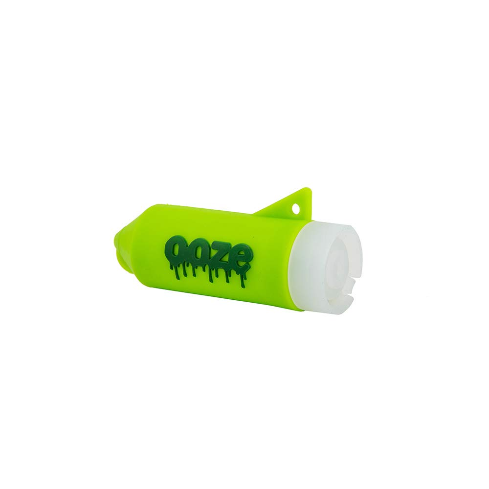 Ooze Rocket Silicone Grinder - With LED Light and Applicator - (Green)
