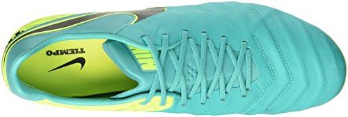 Nike Tiempo Legend VI Sg-Pro, Botas de Fútbol para Hombre Multicolore (Clear Jade/Black-Volt)