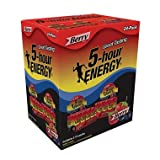 5-Hour Energy, Berry Flavor, 24 pk./1.93 oz. (pack of 6)