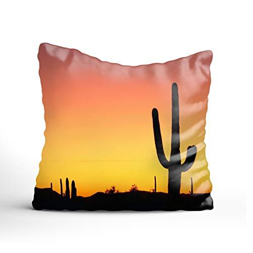 Dolores Joule Cactus Beautiful Christmas Pillow Shams,Nice Choice for Kids Boys Christmas Teens Bar Seat (Dreamsack White Pillowcase)