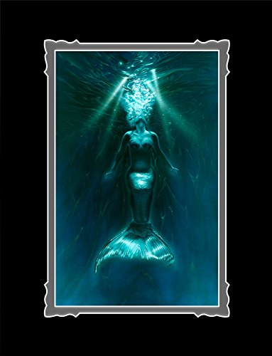 """Mermaids """"Exhale"""" Deluxe 14x18 Matted Print on Glossy Pho..."""
