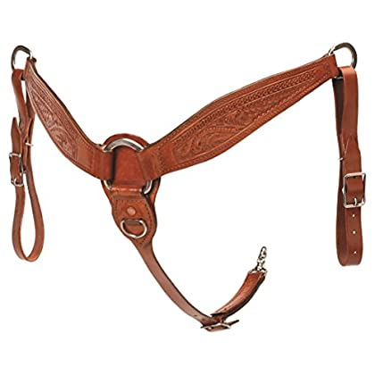 Image of Breastplates Colorado Saddlery The 7-17 Reiner Breast Collar