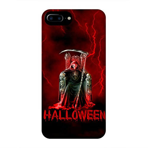 Coque Apple Iphone 7+ - Halloween faucheuse rouge