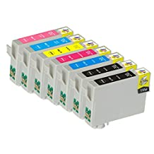 Ink & Toner Geek ® - 7 Pack Remanufactured Replacement Inkjet Cartridges for Epson T079 #79 (T079120, T079220, T079320, T079420, T079520, T079620) For Use With Epson Artisan 1430 Stylus Photo 1400 (2 Black, 1 Cyan, 1 Magenta, 1 Yellow, 1 Light Cyan, 1 Light Magenta)