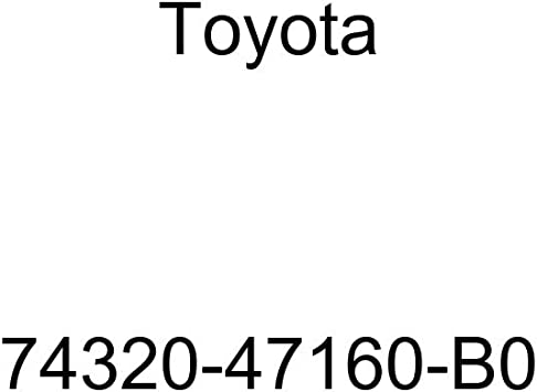 TOYOTA Genuine 74320-47160-B0 Visor Assembly