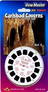 ViewMaster 3D 3- Reel Set - Carlsbad Caverns National Park - Set 2 ()