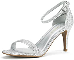 Amazon.com: Silver - Pumps / Shoes: Clothing Shoes &amp Jewelry