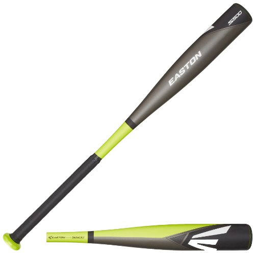 Easton YB14S500 S500 Youth Baseball Bat, Green/Grey/Black, 31-Inch/18-Ounce
