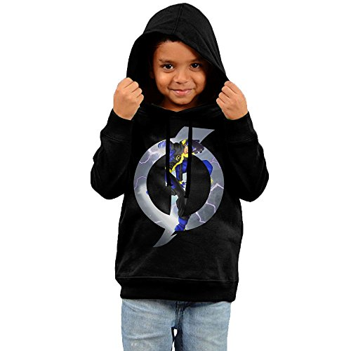RTRY Infant Static Tv Poster Unisex Hoodie Black Size 2 Toddler