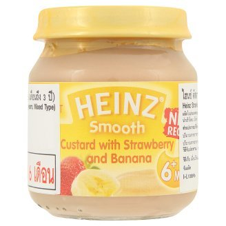 Heinz Smooth Strawberry & Banana Flavour Custard 110g by Heinz (Image #1)'