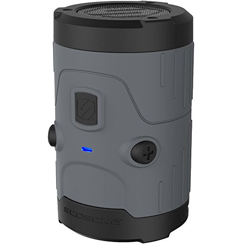 Scosche boomBOTTLE H2O Bluetooth Wireless Speaker - Gray by Scosche