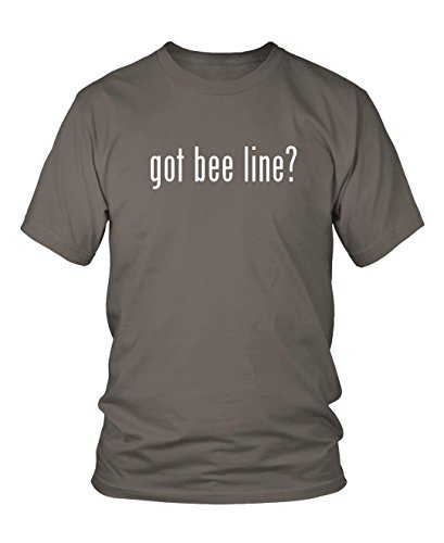 got-bee-line-mens-adult-short-sleeve-t-shirt-grey-xx-large