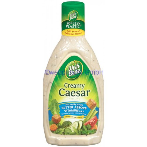 (Wish-Bone Creamy Caesar Salad Dressing 16 oz)