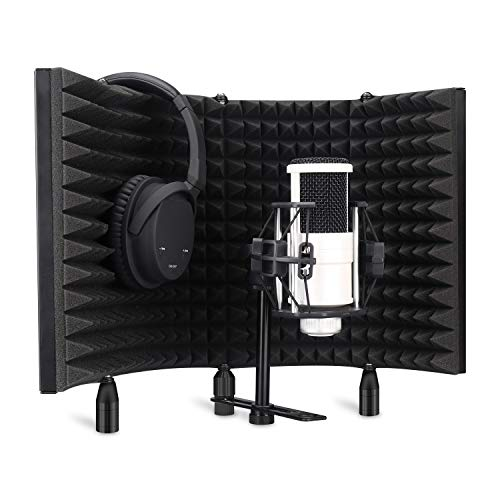 Aokeo Professional Studio Recording Microphone Isolation Shield,Pop