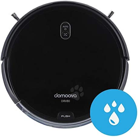 DOMOOVA DRV80 Animal - Robots Aspirateurs et laveurs spécial Poils d'animaux - Home Robots