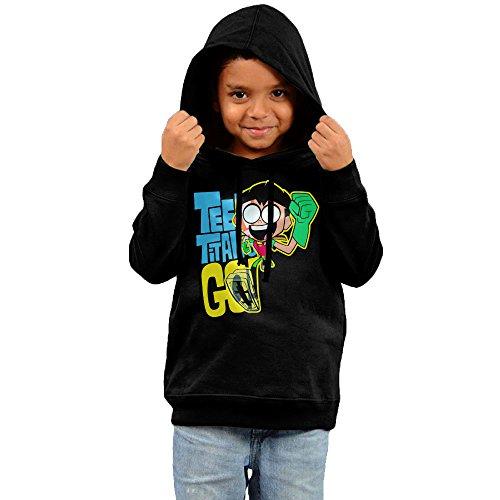 KIHOYG Kid's Teen Titans Go Robin Hooded Sweatshirt (Robin Custome)