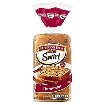 Cinnamon Swirl Bread - Pepperidge Farm Cinnamon Swirl Bread, 16 oz.