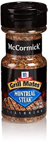 McCormick Grill Mates Montreal Steak Seasoning, 3.40 OZ (Pack - - Montreal Seasoning