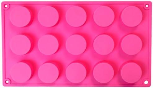 円型 シリコンモールド ジュエリー アクセサリー パーツ レジン 手作り 石鹸 型 抜き型