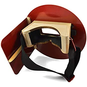 Wendy/'s Pancake Welding hood helmet w 1 free Lens Box ANSI Z87 compliant.