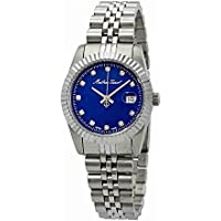 Mathey Tissot Rolly III Crystal Blue Dial Women's Watch