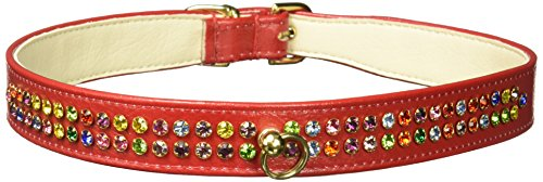Mirage Pet Products No.76 Dog Collar, 24-Inch, Red