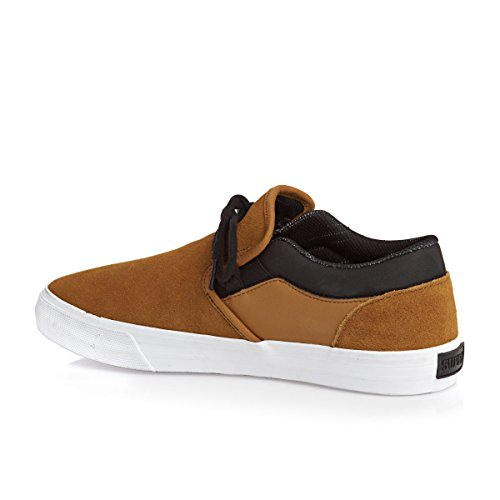 SUPRA Skateboard Shoes CUBA CATHAY SPICE/BLACK-WHITE
