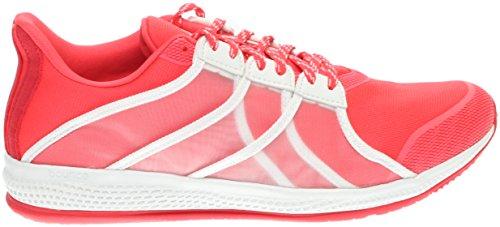 Adidas Kvinna Gymbreaker Studsa Utbildning Sko Chock Röd / Vit / Ray Röd