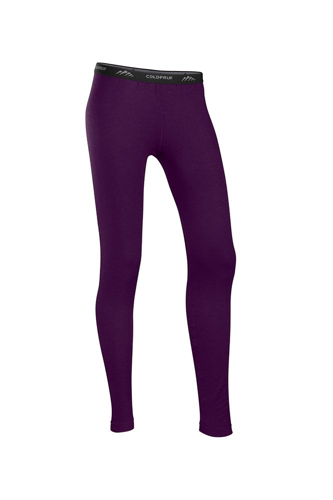 ColdPruf Women's Platinum Dual Layer Bottom, Eggplant, Small