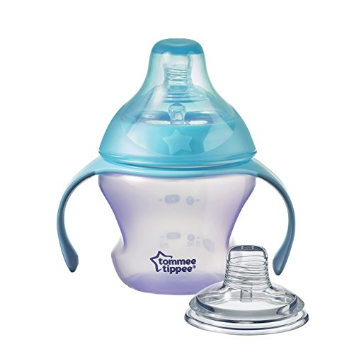 Tommee Tippee First Sips Soft Spout Transition Cup, 5 Ounce, 1 Count (Colors will ()