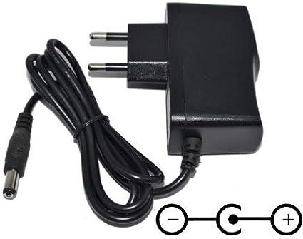 TOP CHARGEUR * Adaptateur Secteur Chargeur Sortie Output DC 6V 1A 1000mA 6W Certification CE Connecteur: 5,5mm * 2,5mm Remplace Alimentation 6V 200mA / 300mA / 500mA / 600mA / 800mA / 900mA / 1000mA