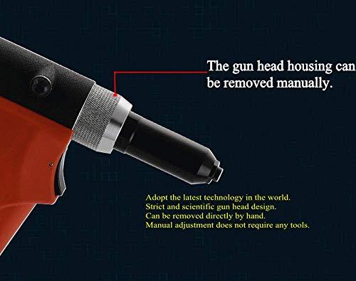 Heavy Duty Air/Hydraulic Rivet Gun professional Riveting tool 1/4'' air power tool Self Suction style and no Self Suction style (Self Suction style) by Shiningeyes (Image #2)