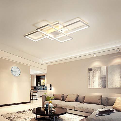 Plafoniera a LED Soggiorno Dimmerabile Soffitto Lamp ...