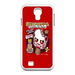 Samsung Galaxy S4 9500 Cell Phone Case White Colossal Ice Cream XFD Plastic Phone Case Clear