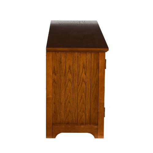 50'' Mission Style TV Media Stand Console , Walnut Finish by FurnitureMaxx (Image #5)