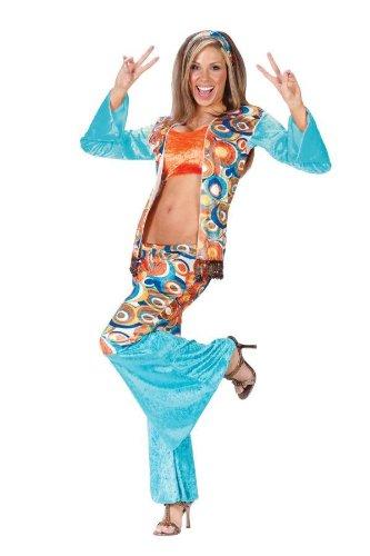 Hippie Chic Costumes (Hippie Chic Adult Costume - Small/Medium)