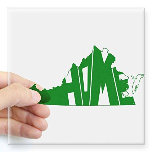Hampton Ridge Vinyl (CafePress - Virginia Home Square Sticker 3
