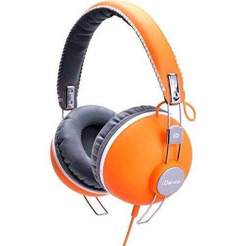 iDance HIPSTER 704 Headband Headphones - Orange & (Orange Dj Headphones)