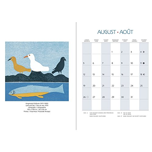 Inuit Art Cape Dorset 2018 Engagement Planner Calendar Photo #2
