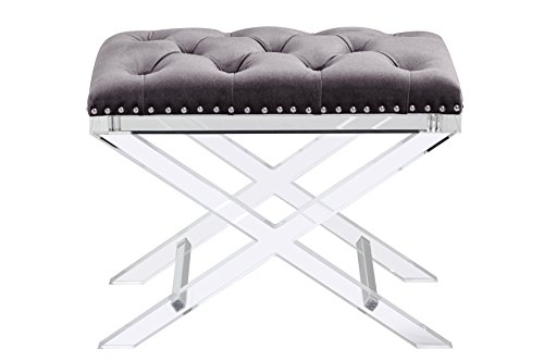 698043009113 - Sunpan Modern 100957 Allura Bench with Light Grey Fabric carousel main 5