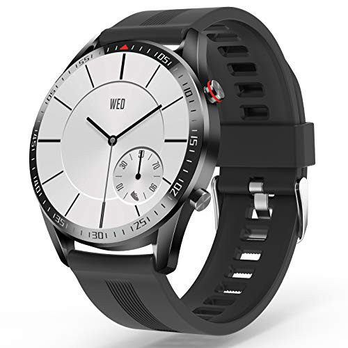 """YoYoFit Smart Watch Fitness Tracker with 23 Sport Mode Customized Dial Face Heart Rate Blood Pressure Monitor,1.4"""" Touch…"""