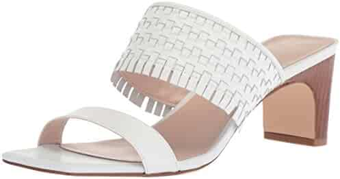 Nine West Women's Nirveli Leather Slide Sandal