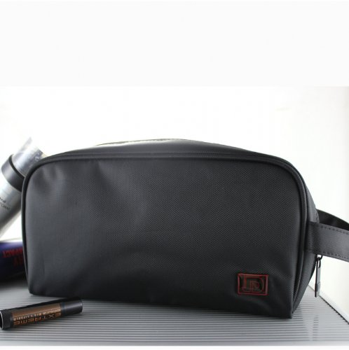 New Small Black Men's Cosmetic Toiletry Bag, Bags Central