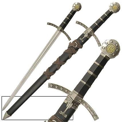 Amazon.com: Crusader de los Caballeros de Templar corto ...