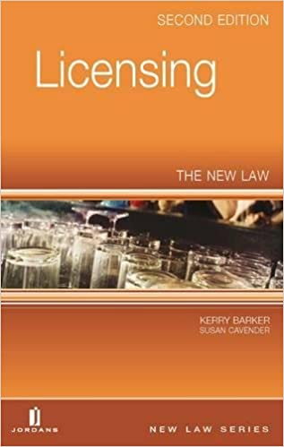 Book Licensing: The New Law